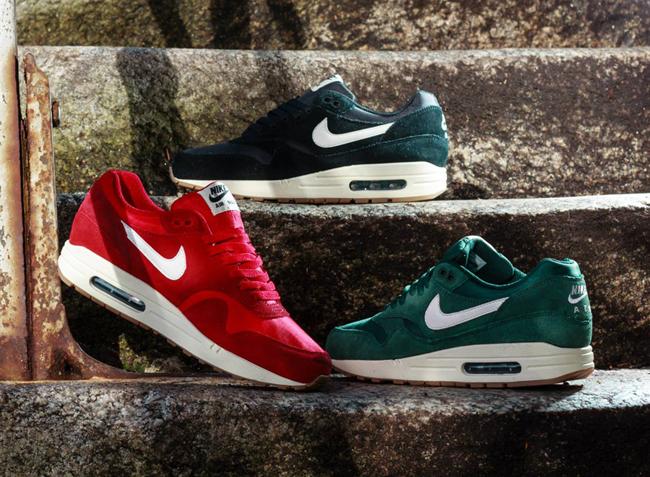 Nike Air Max 1 Gs Zwart