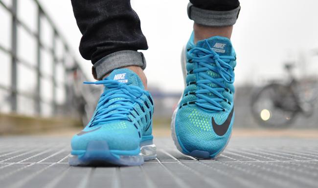 Nike Air Max 2016 Rood Blauw