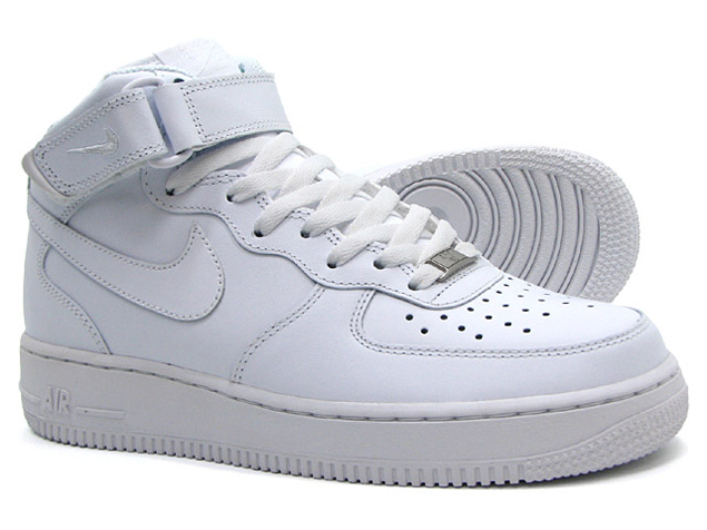 nike air force 1 hoge witte