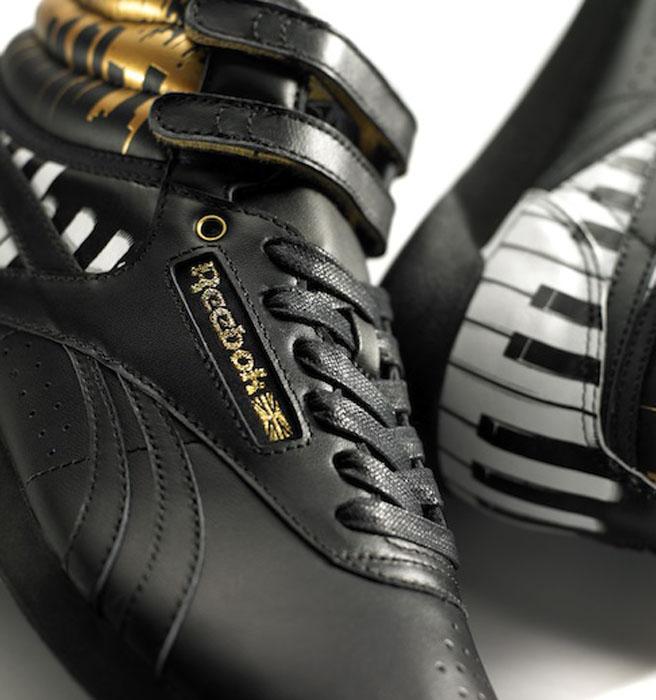De Piano op de Sneakers
