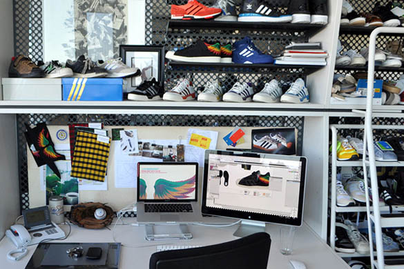 Adidas sneakers Design office
