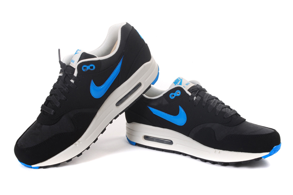 Nike Air Max 1 Black Blue Camouflage