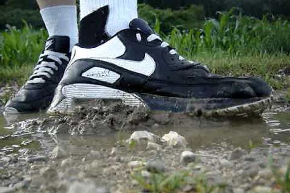 Nike Air Max schoonmaken