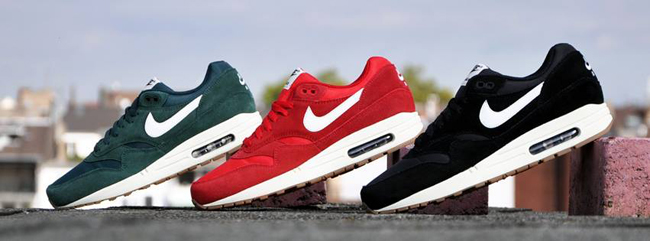 a87017158f9 Nike Air Max 1 Suede Pack - Sneakers Blog