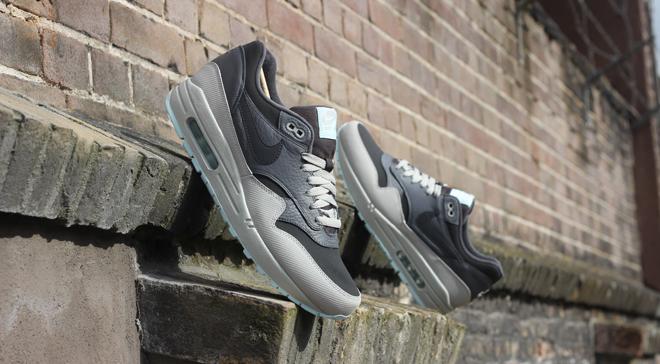size 40 87efc b790d Nike Air Max 1 Leather Dark Ash Dark Grey