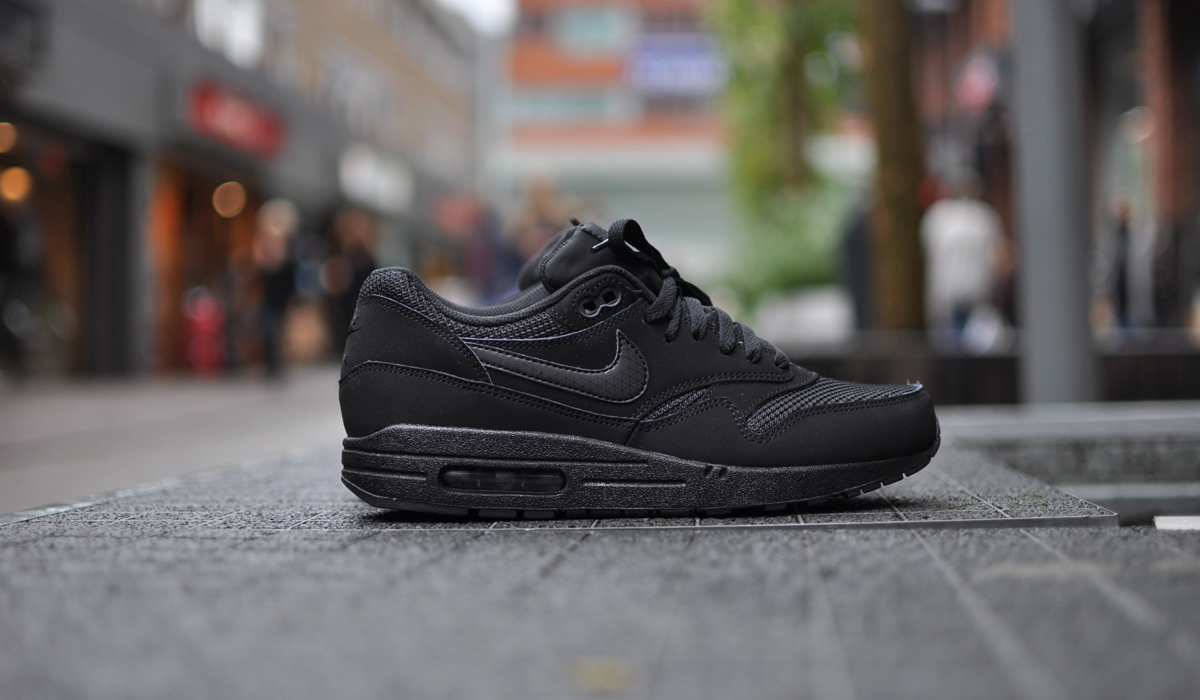 nike air max 1 dames black