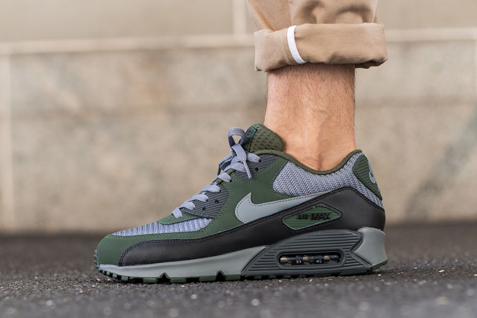 Nike Air Max 90 Essential Cool Grey Black | Sneakersenzo