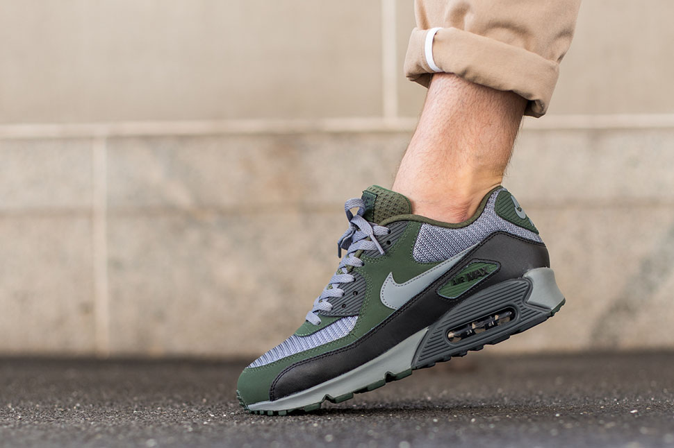 nike air max 90 essential groen