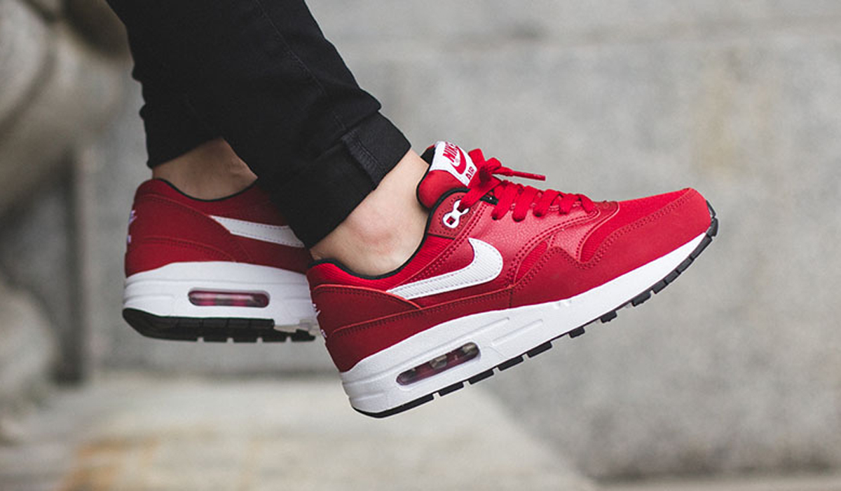 nike air max 1 gs gym red | Sneakersenzo