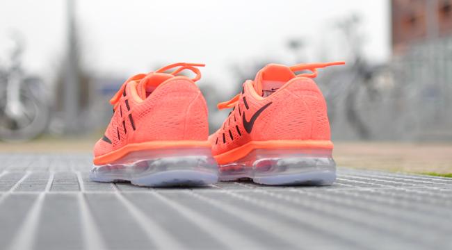 nike air max 2016 roze oranje