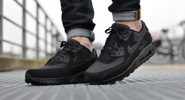 nike air max 90 essential black/black