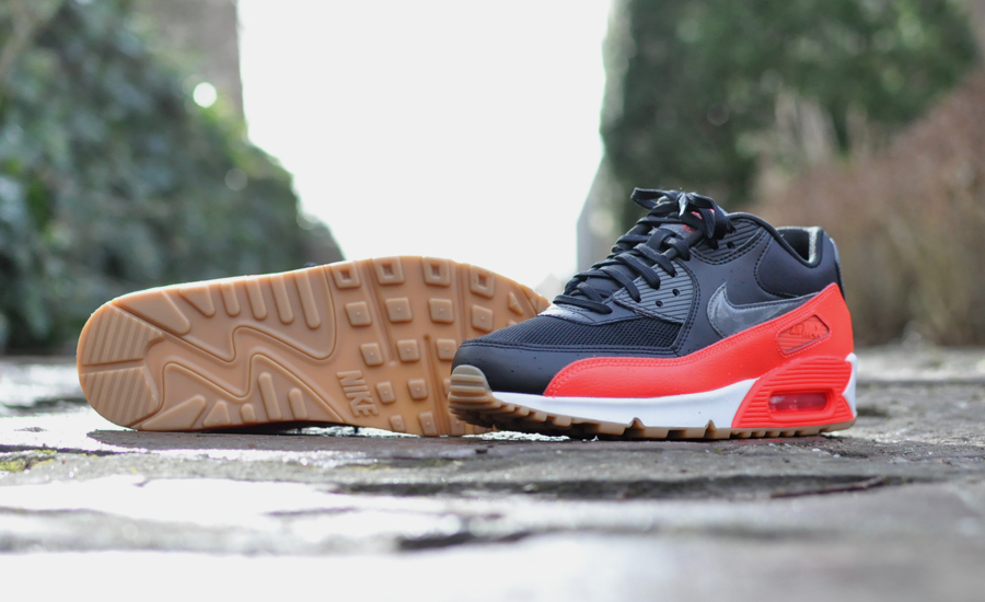 Nike Air Max 90 Bright Crimson Sneakers Blog