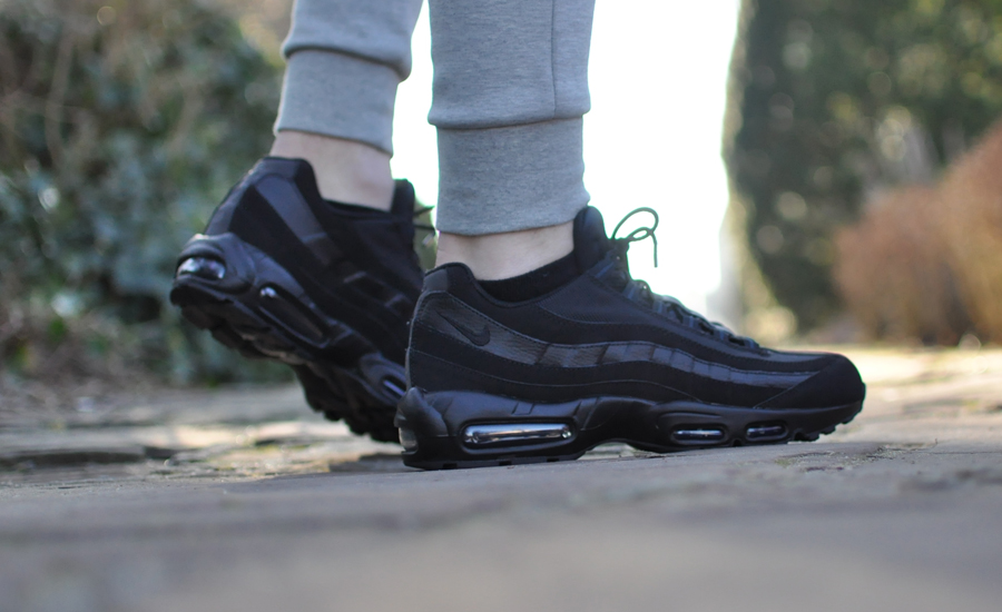 air max 95 dames zwart