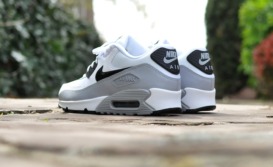 outlet store 98ea7 fd5c2 Nike Air Max 90 White Wolf Grey  Sneakersenzo