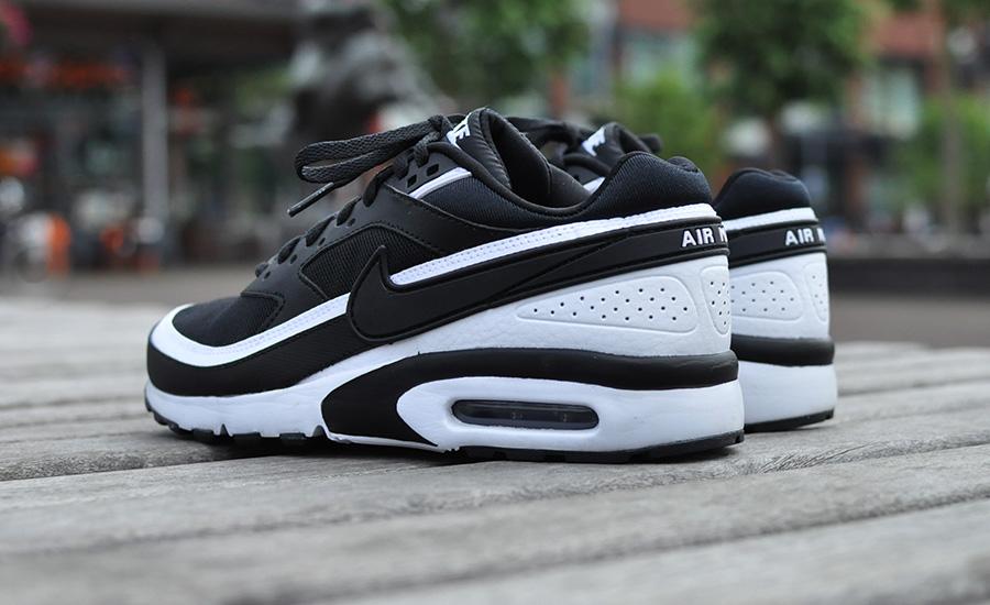 nike air max classic bw dames zwart
