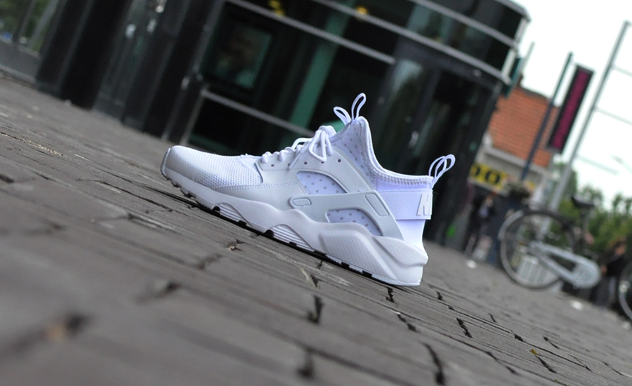 Nike Air Huarache Run Ultra Triple White 819685 101