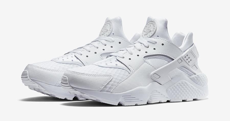 8815a0e43de witte nike sneakers nike huarache - Sneakers Blog