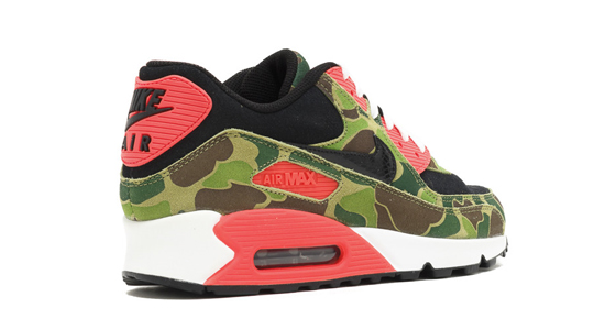 buy popular 33df1 84a1c Exclusieve Nike Air Max 90 Atmos Duck Camo x Infrared