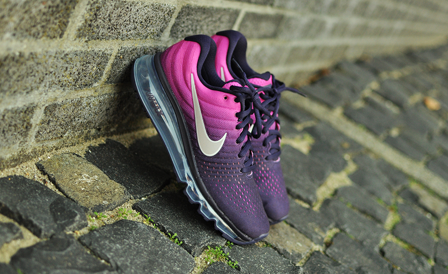 nike air max 2017 roze paars