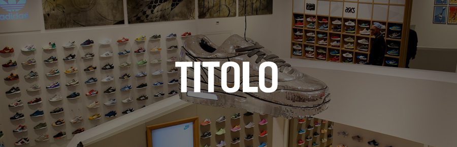 exclusieve sneaker shop Titolo