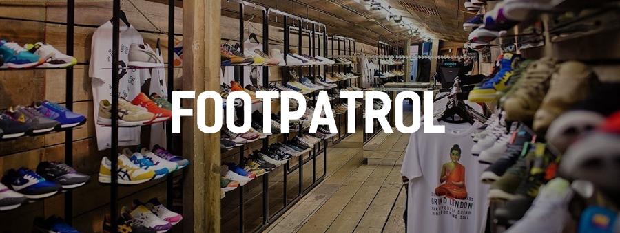 exclusieve sneaker shop footpatrol