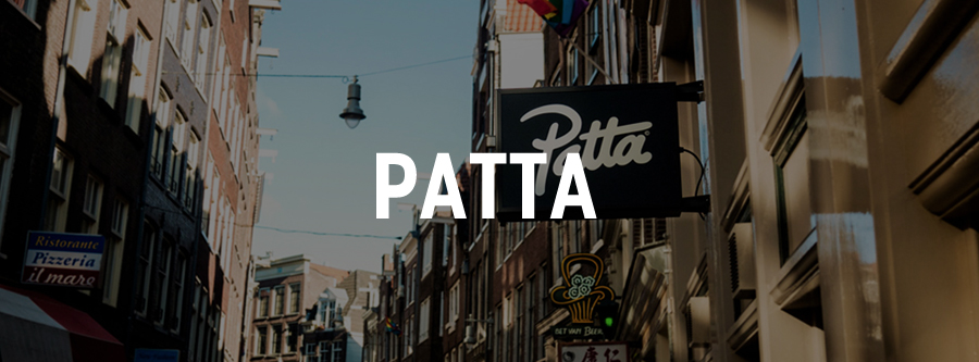 exclusieve sneaker shop patta