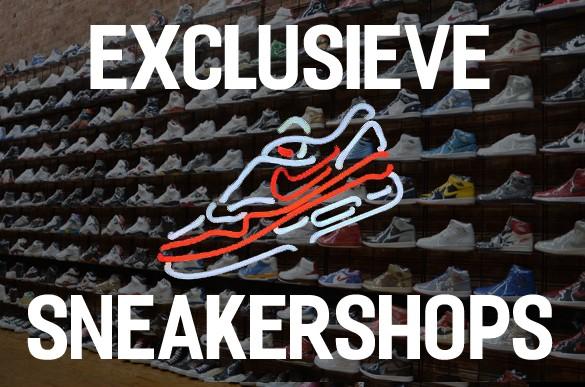 exclusieve sneakershop