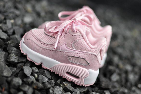 roze kinder Nike air max 90