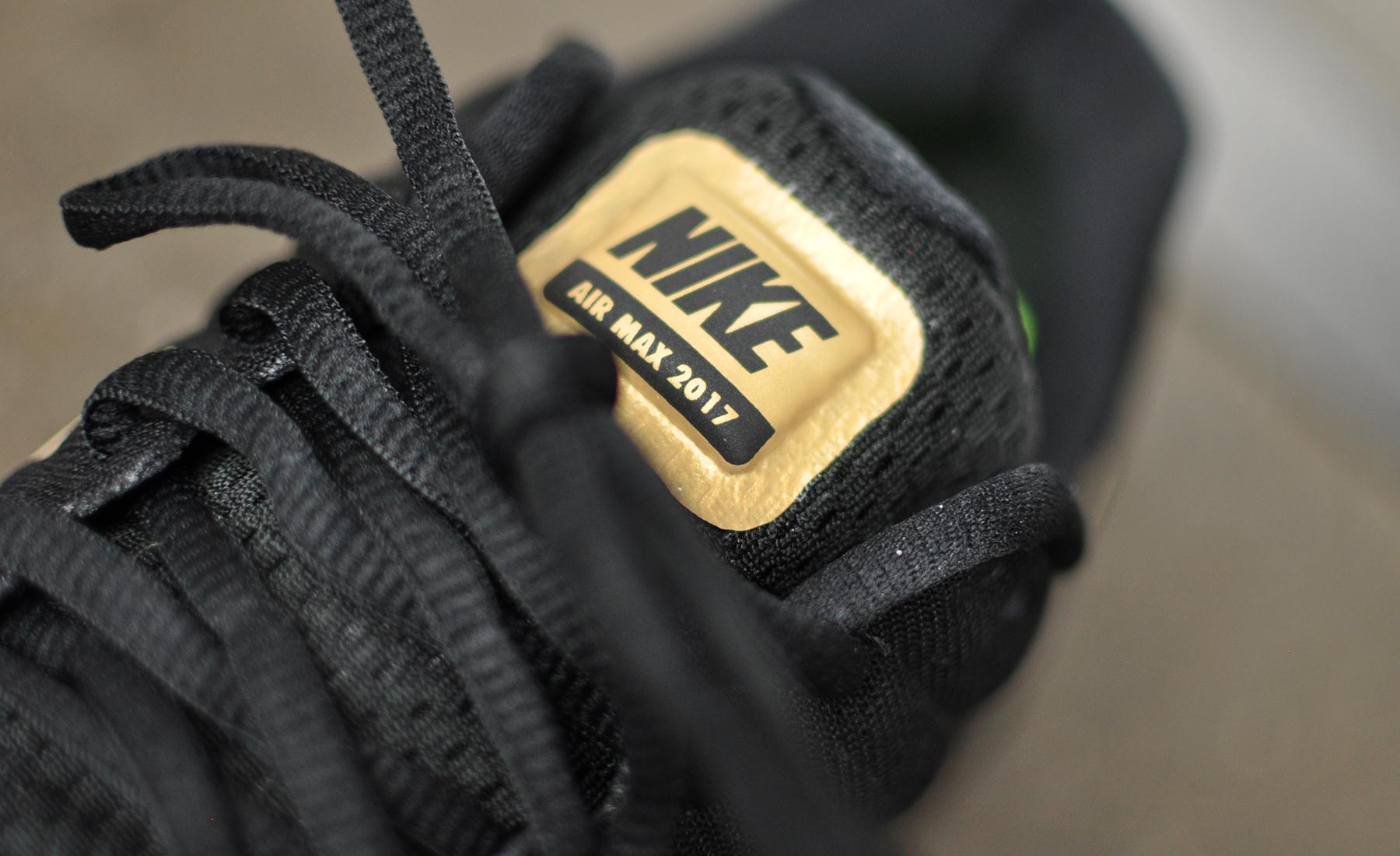 Black Gold Nike Air Max 2017