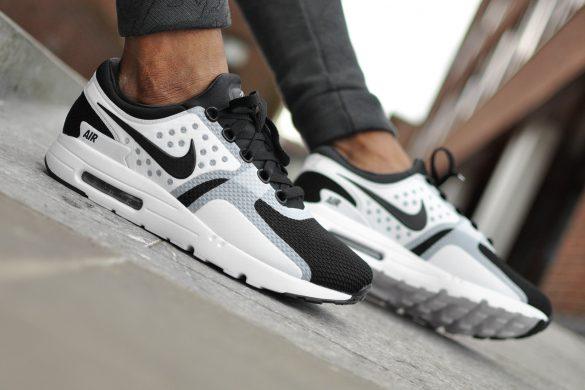 De Nike Air Max Zero Zwart Wit