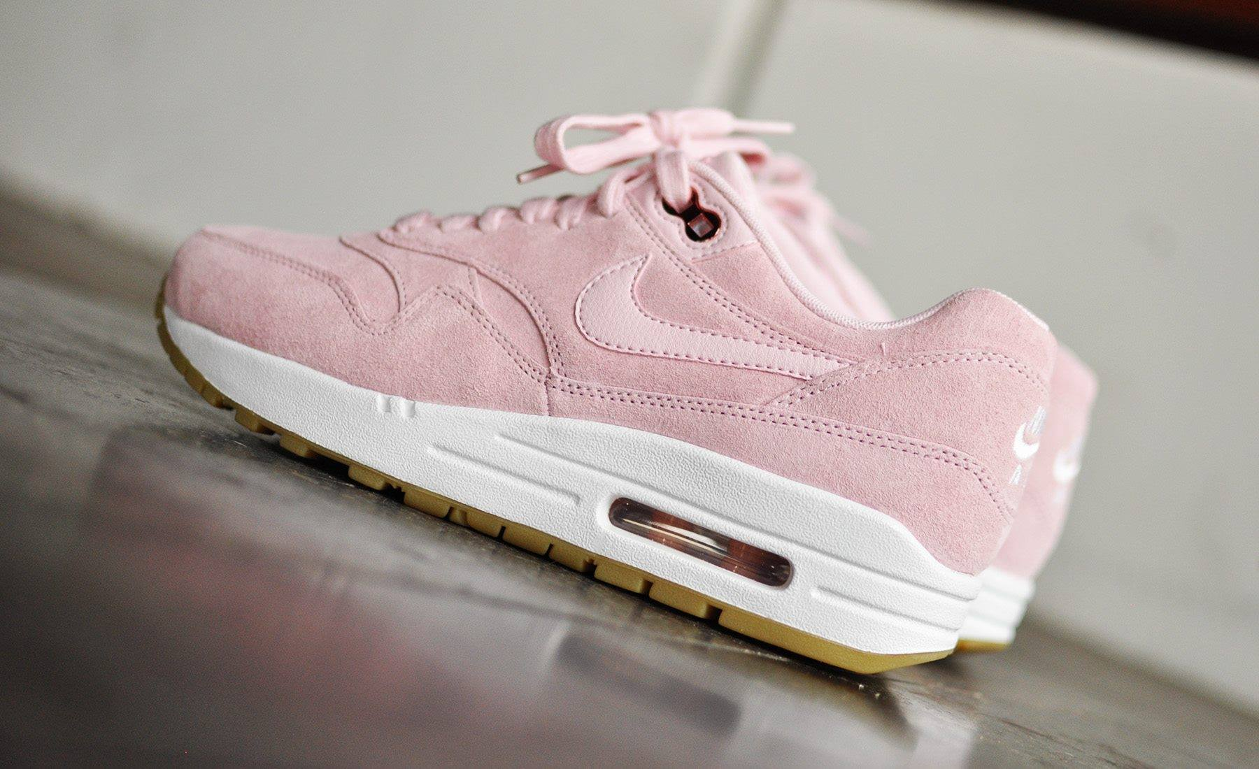nike airmax suede roze