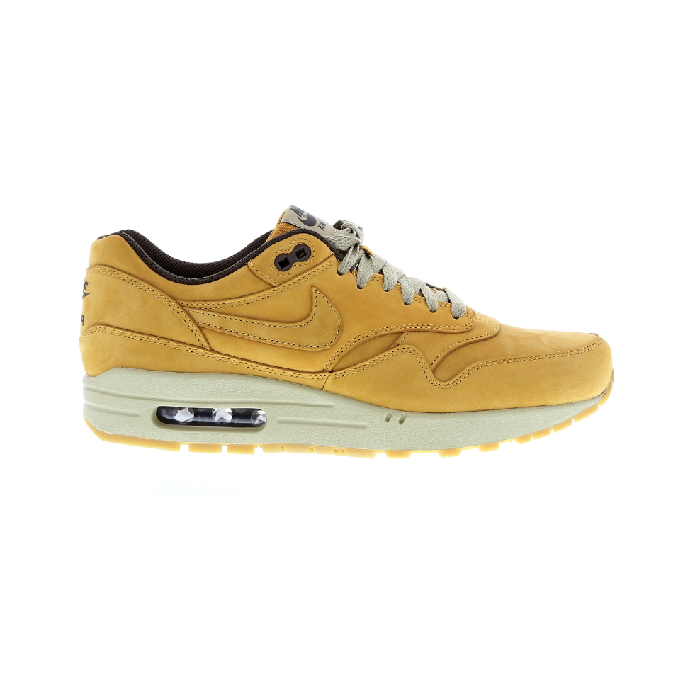 Nike Air Max 1 Leather Premium 705282 700 Geel