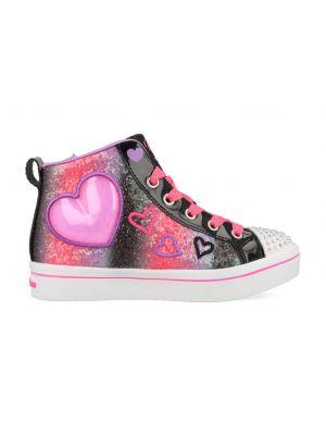 Skechers Heart Gem 314419L/BKMT Zwart / Roze