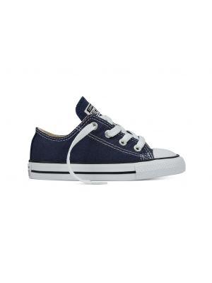 Converse All Stars Laag Kids 7J237 Navy Blauw-19