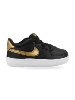 Nike Air Force 1 CK2201-002 Zwart / Goud