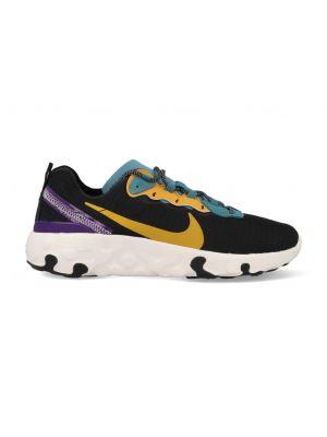 Nike Renew Element 55 CU0851-002 Zwart / Geel / Groen