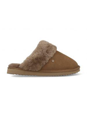 Warmbat Pantoffels Flurry FLS321055 Mud Bruin