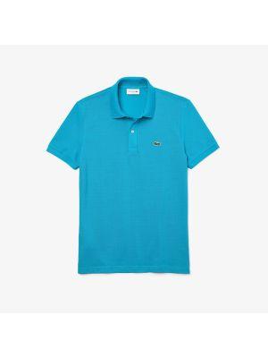 Lacoste Slim Fit Polo PH4012-HDB Blauw