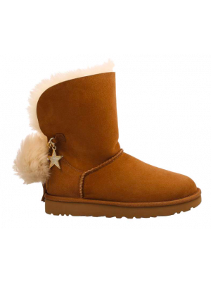 UGG Classic Charm Boot Dames 1095717/CHE Bruin