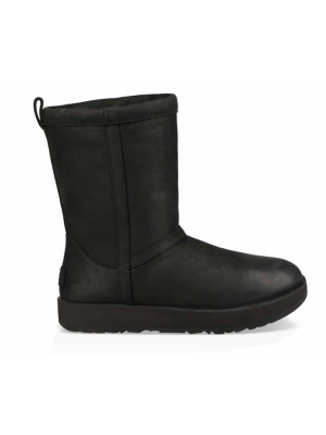 UGG Classic Short Leather 1017509/BLK Zwart