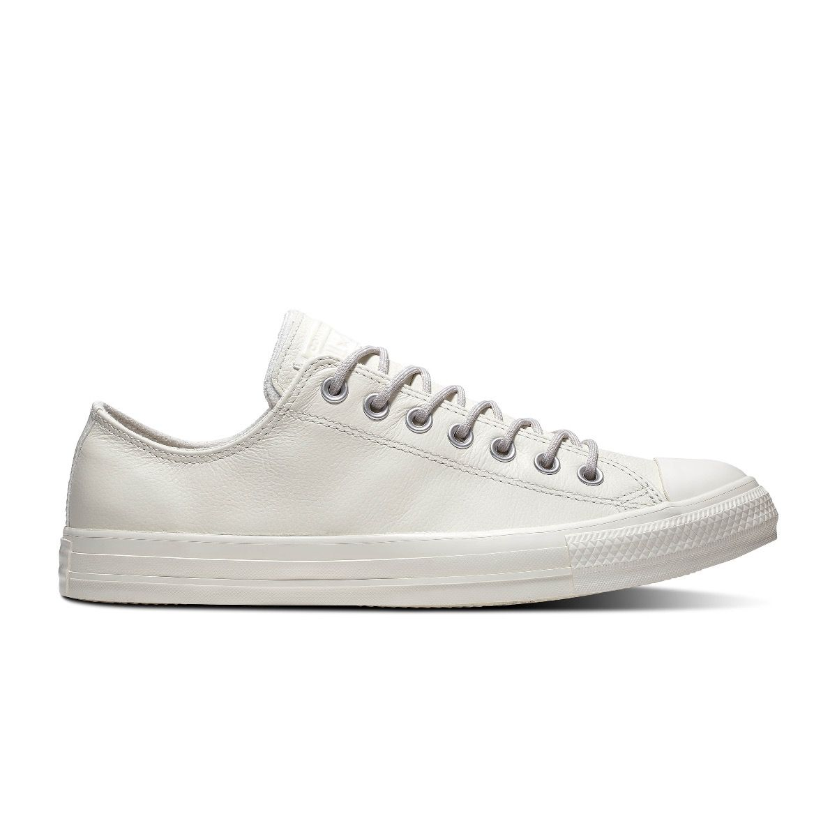 Converse All Stars Chuck Taylor Leer 163342C Wit / Grijs