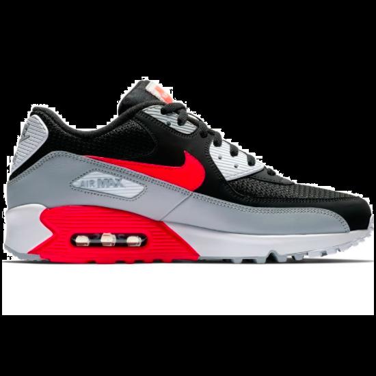 Nike Air Max 90 Essential schoenen zwart rood wit