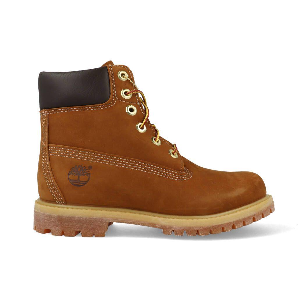 Vykort efterrätt Handstil  Timberland Dames 6-Inch Premium Boots (36 t/m 41) 10360 Rust Bruin