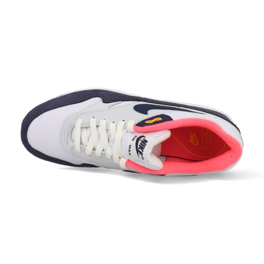 Nike Air Max 1 319986 116 Wit Blauw Roze