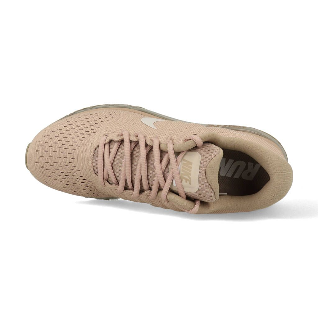 Nike Air max 2017 849559 201 bruin roze