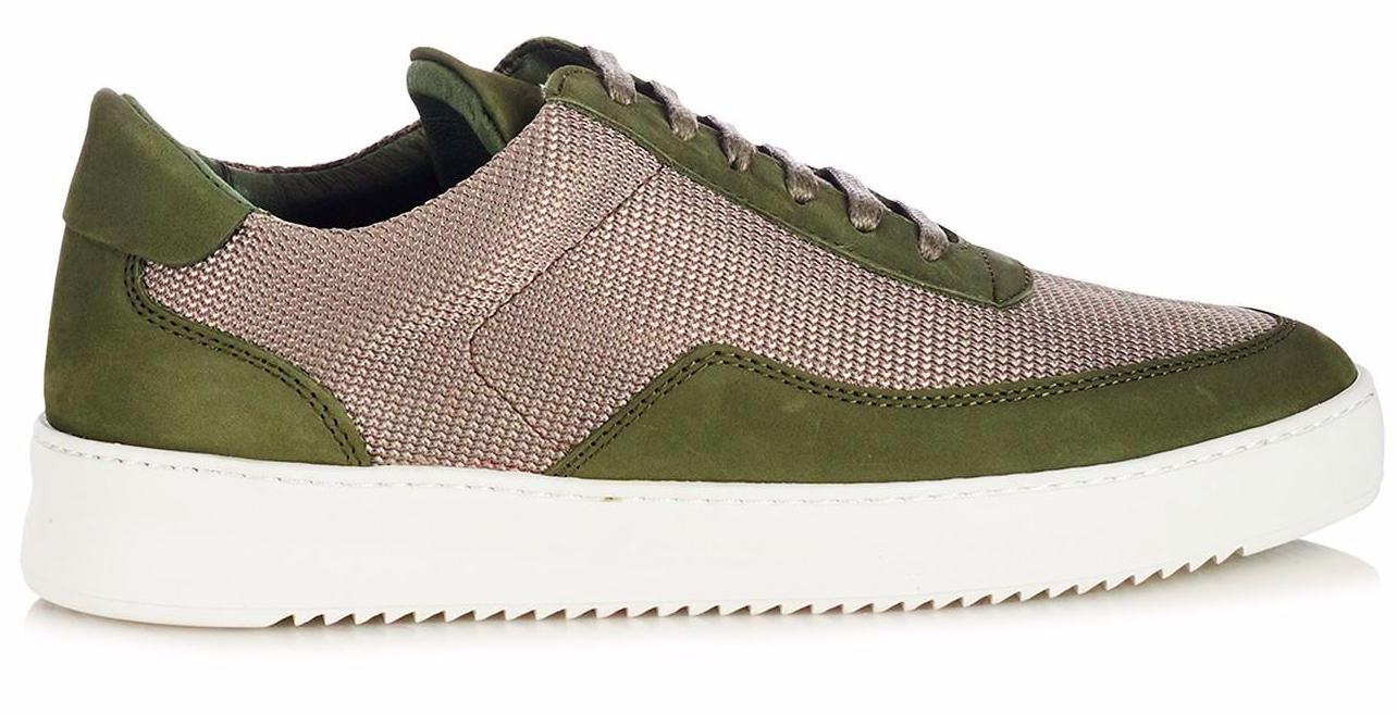 Filling Pieces herensneaker groen
