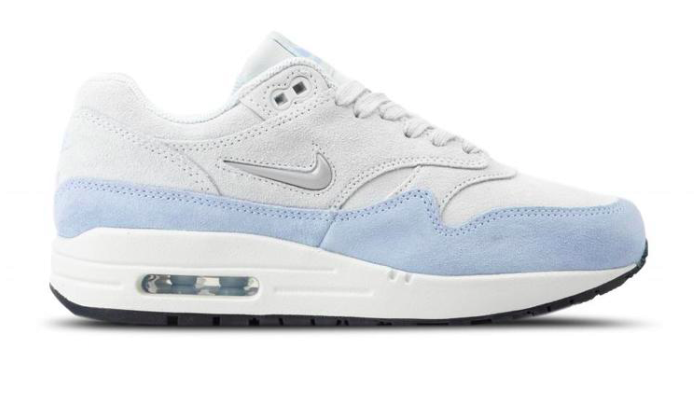 detailed look 337e6 57736 Nike Air Max 1 Premium AA0512-004 Wit  Blauw