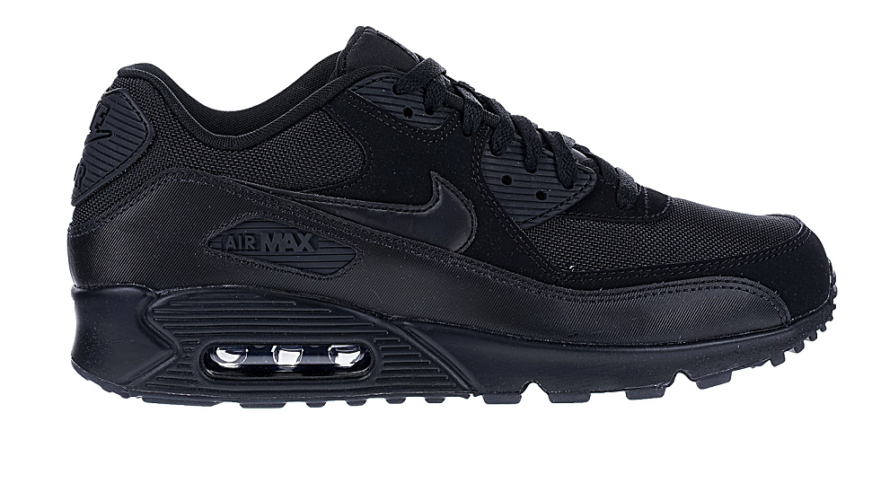nike air max 90 zwart