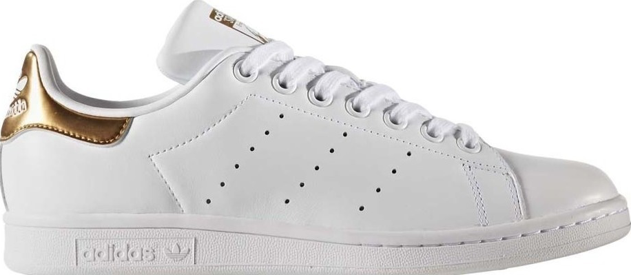 adidas stan smith wit goud