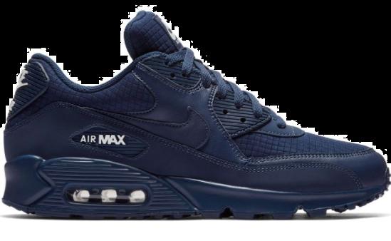 nike air max 90 blauw zwart